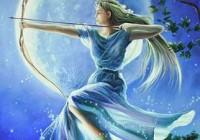 新月 レムリアン女神